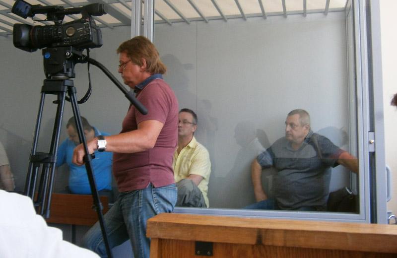 Обвинувачені по справі у Київському райсуді