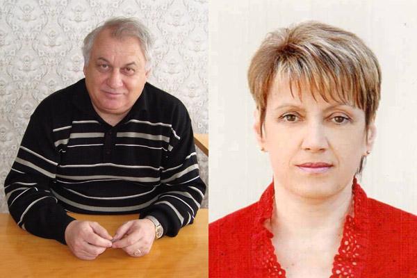 Юрій Говорун та Ольга Нестеренко