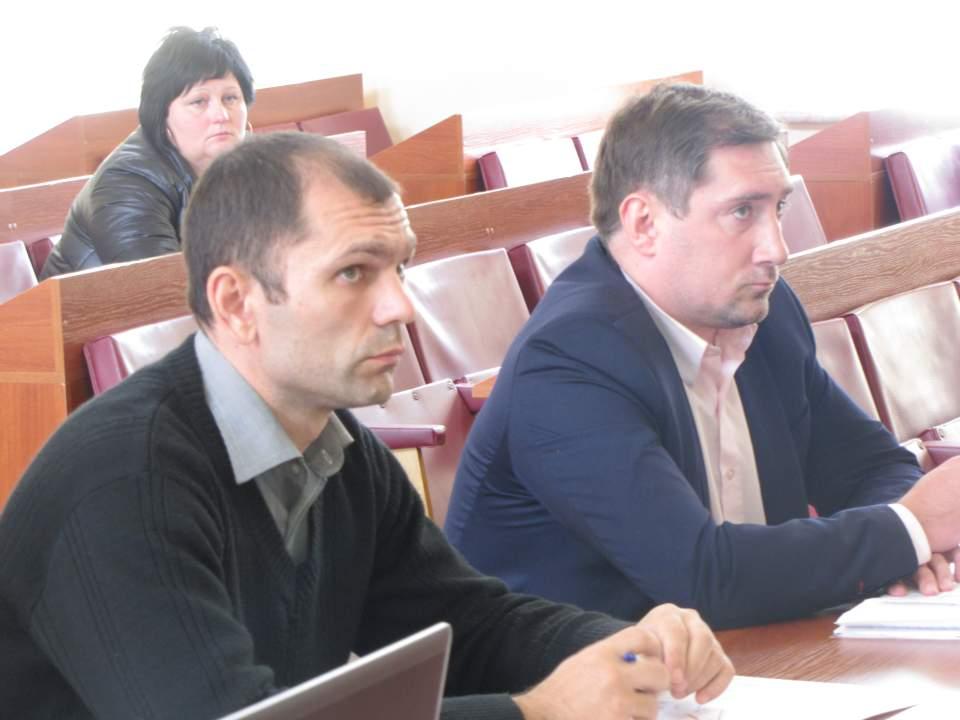 Віталій Глуховеря та Сергій Марчишинець