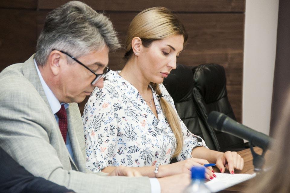 Олег Пругло та Інна Іщенко