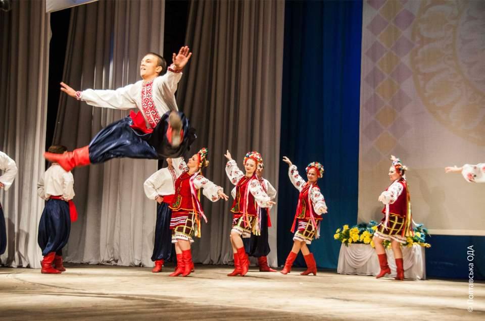 Танцювальна група українського народного хору «Калина»