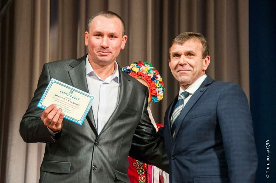 Нагородження Заслуженого тренера України з боксу Олександра Хижняка
