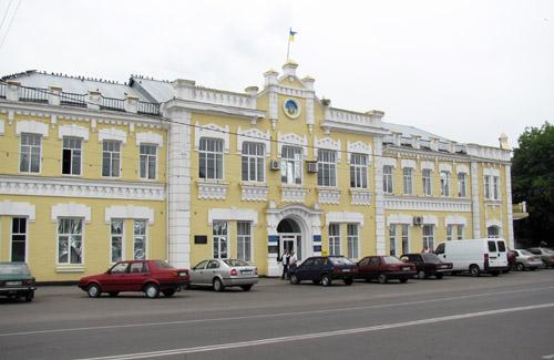 Будівля Миргородської РДА