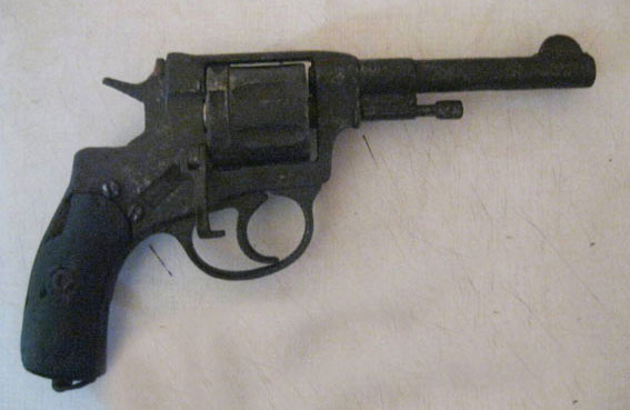 Револьвер, вилучений у Зінькові