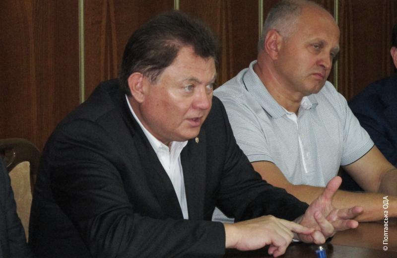 Василь Лазоришинець та Олександр Усенко