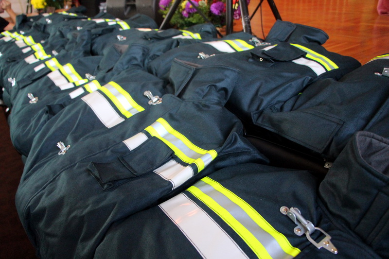Новий спецодяг для рятувальників міста