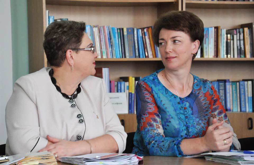 Ірина Надіна та Лариса Кречко