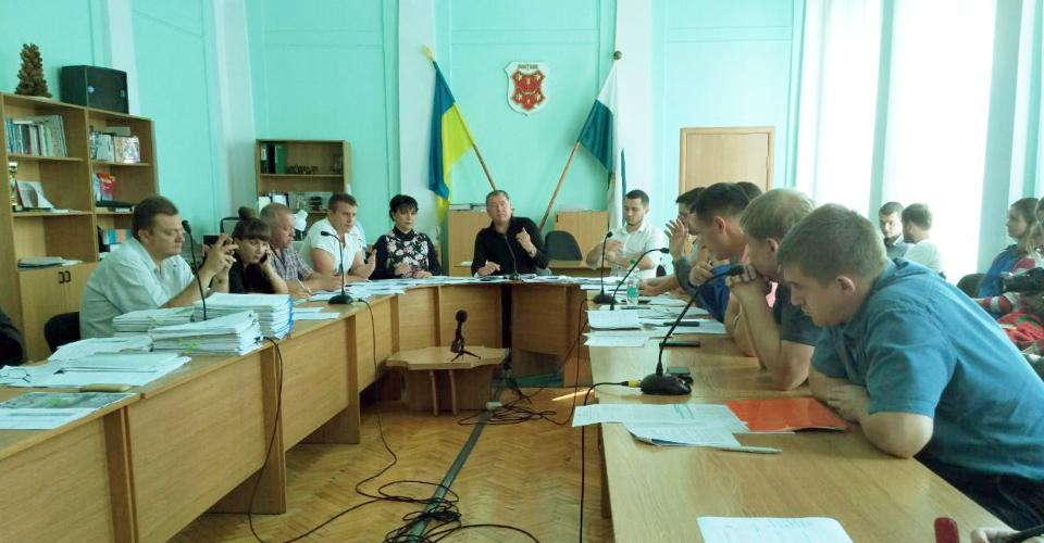 Засідання депутатської комісії з питань архітектури та містобудування