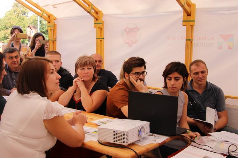 Робота групи авторів проекту Бюджету участі 2017