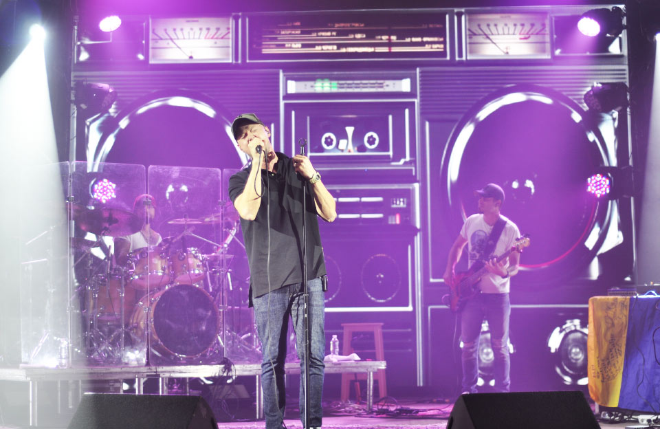 Концерт гурту «Бумбокс» у Полтаві