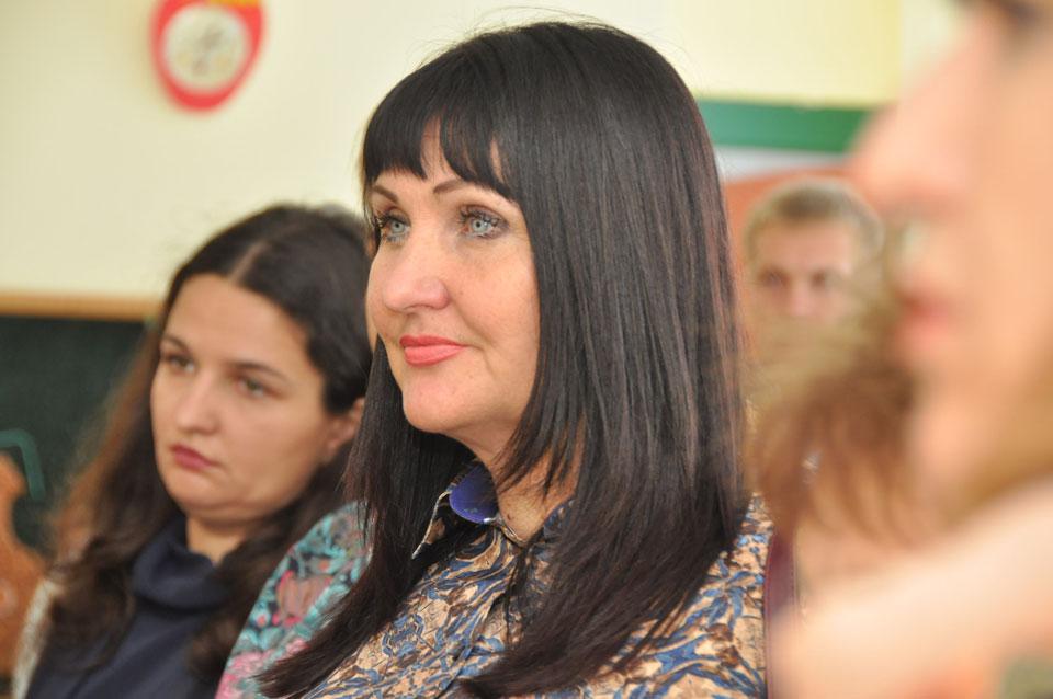 Директорка Департаменту освіти і науки Полтавської ОДА Олена Харченко