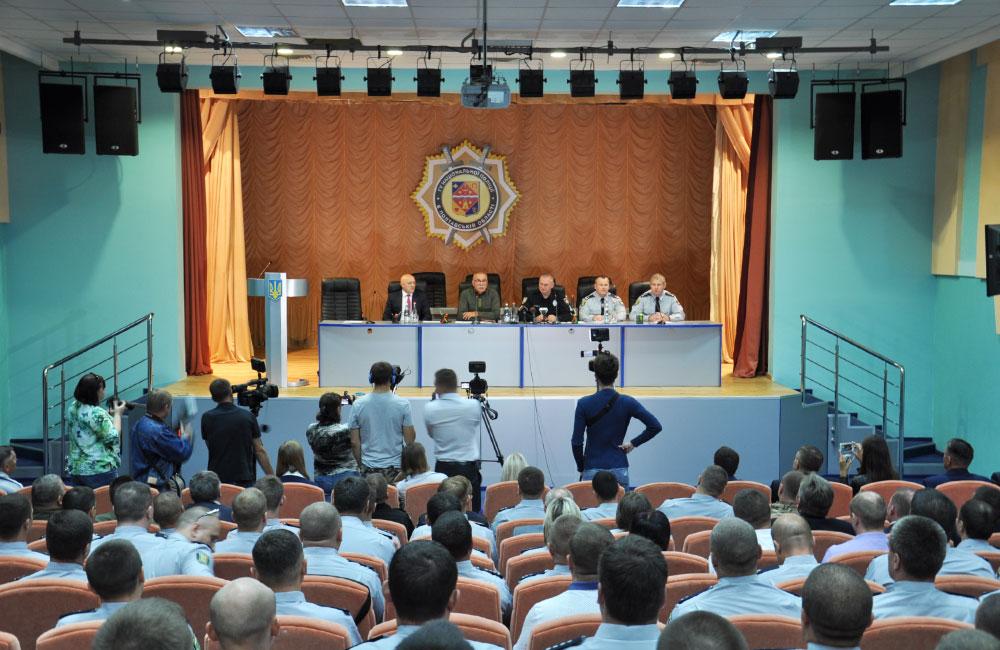 УПолтаві представили нового керівника поліції