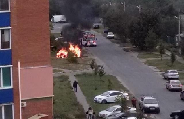 Пожежа на вулиці Станіславського
