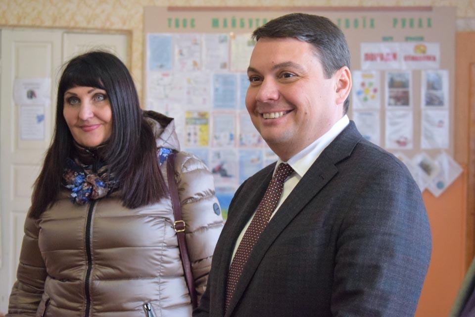 Олена Харченко та Андрій Пісоцький