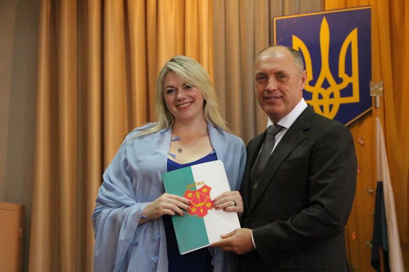 Міський голова Олександр Мамай відзначив кращих з кращих викладачів закладу