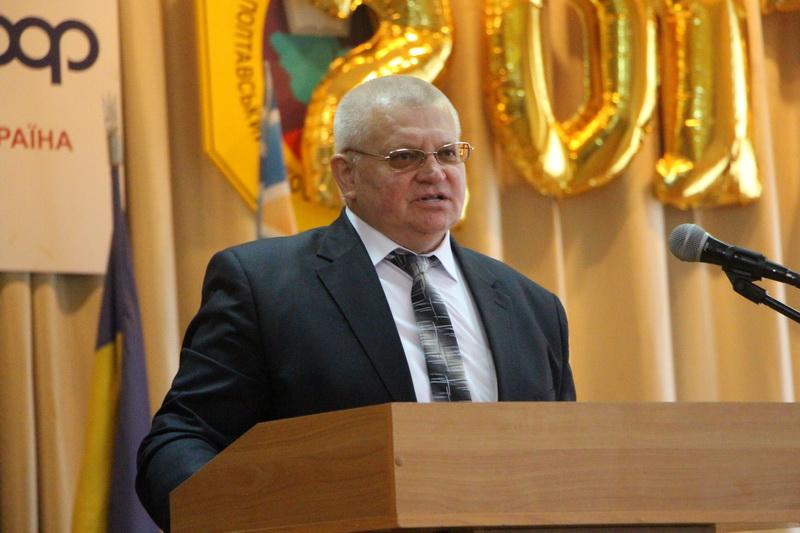 Директор Полтавського кооперативного коледжу Віктор Іноземцев