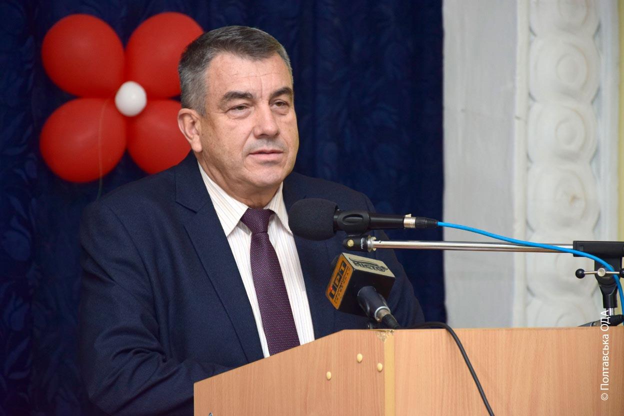Начальник управління інфраструктури та туризму Полтавської ОДА Юрій Кривошеєв
