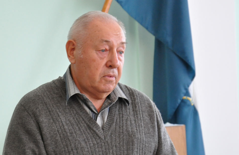 Голова міської ТВК Михайло Козиренко