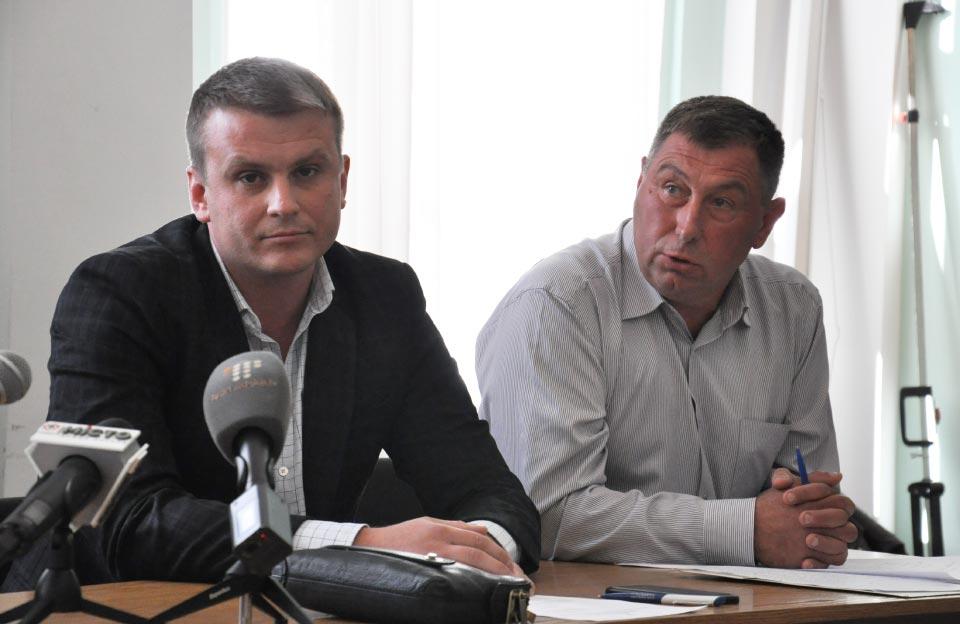 Депутати Денис Поліщук та Сергій Луценко
