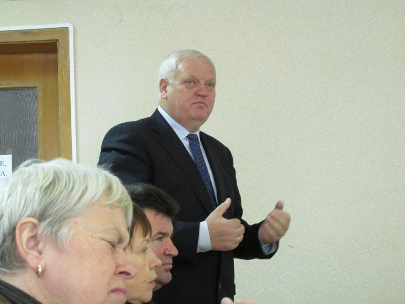 Директор Департаменту охорони здоров'я Полтавської ОДА Віктор Лисак