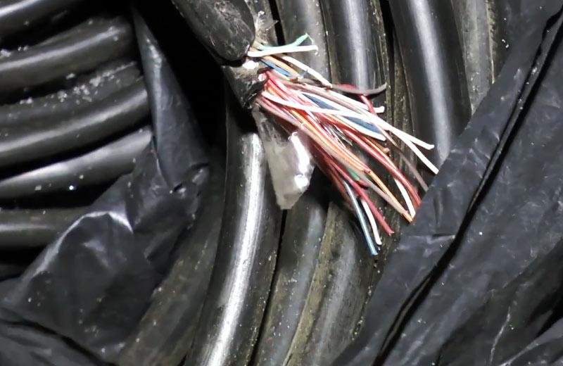 Багатожильний кабель зв'язку «Укртелекому»