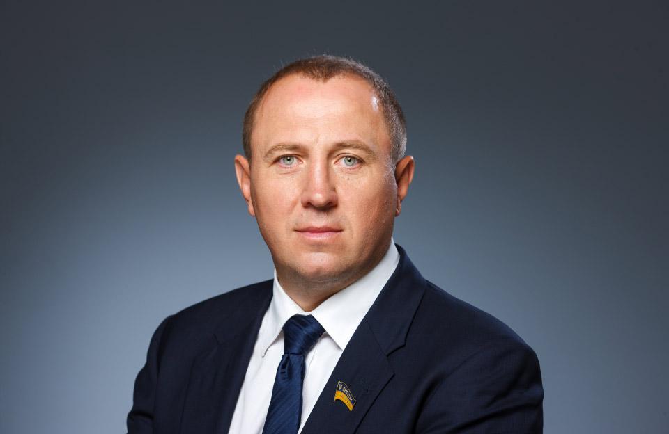 Олег Сазонов, голова Регіональної організації «Опозиційного блоку» в Полтавській області