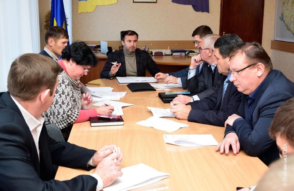 Засідання обласної комісії з визначення-сільськогосподарських та лісогосподарських підприємств