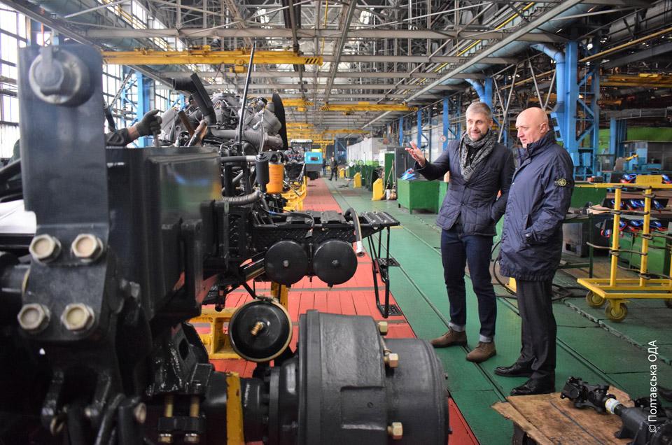 Виробництво тракторів на ХТЗ