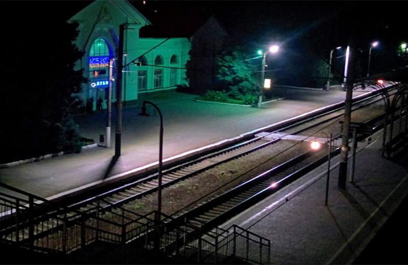 Залізничний вокзал у Лубнах