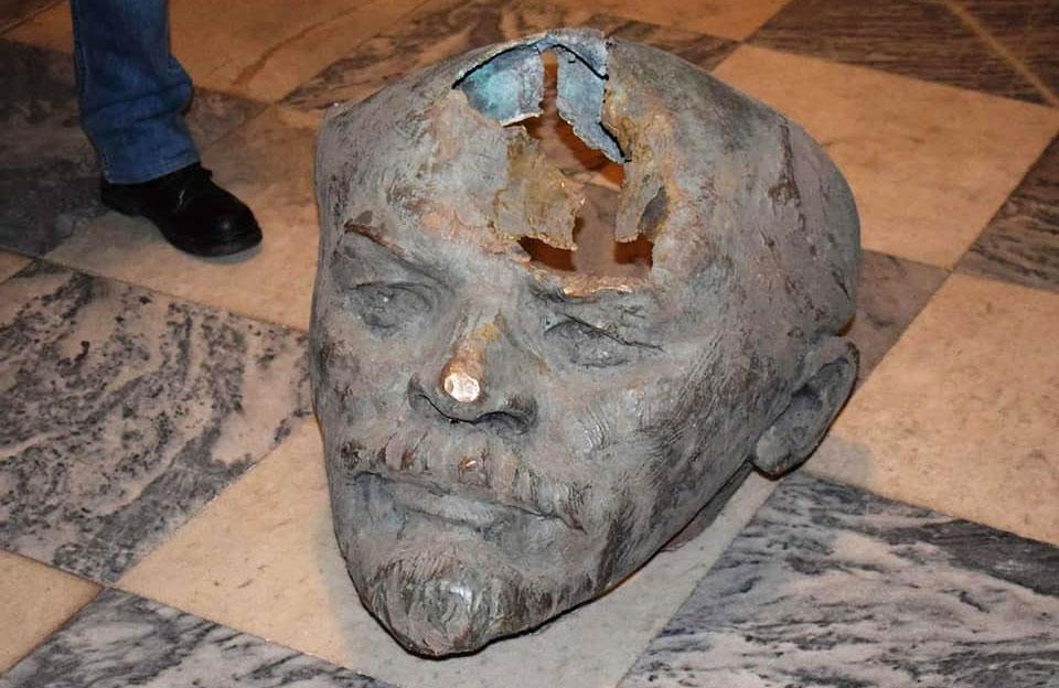 Голову полтавського Леніна у Краєзнавчому музеї