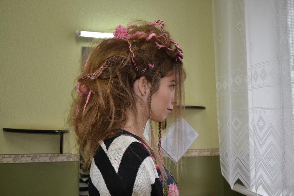 Зачіска в стилі молодіжної субкультури «бохо»