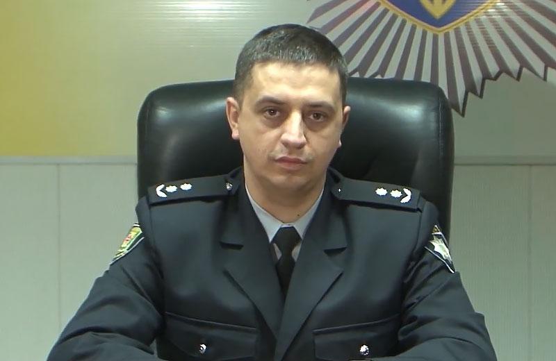 Віталій Ботвина, новий керівник Кременчуцького відділу поліції