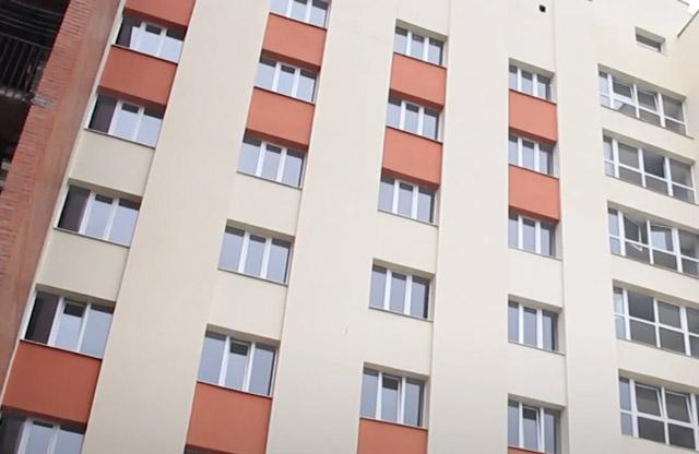 Реконструйований блок гуртожитку на вул. Шевченка, 96