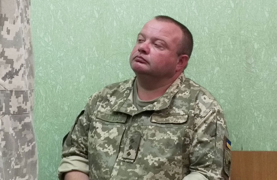 Старший лейтенант Сергій Гавага