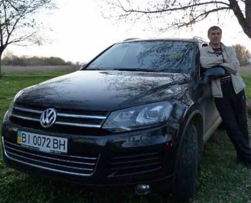Volkswagen Touareg Юрія Безніщенка