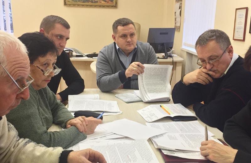 Нарада за участі Тимофія Голбана та Володимира Годні