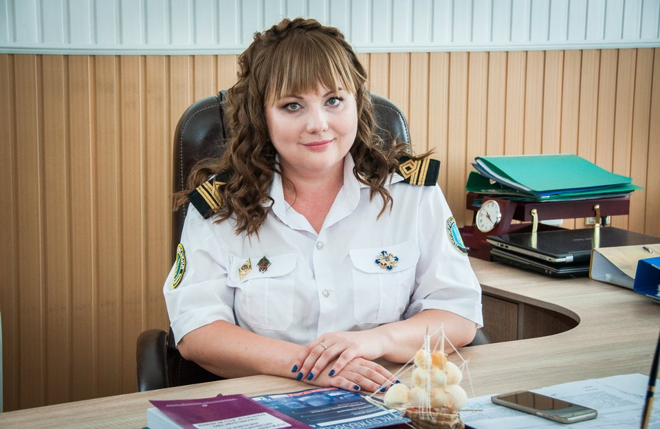 Оксана Кулинич, очільниця Полтавського рибоохоронного патруля