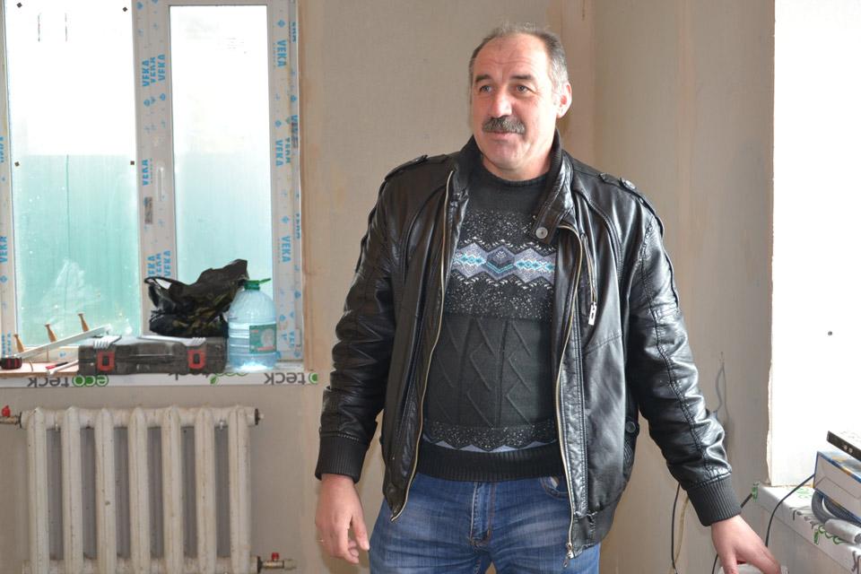 Валерій Білокінь інспектує хід проведення робіт у Кованчику