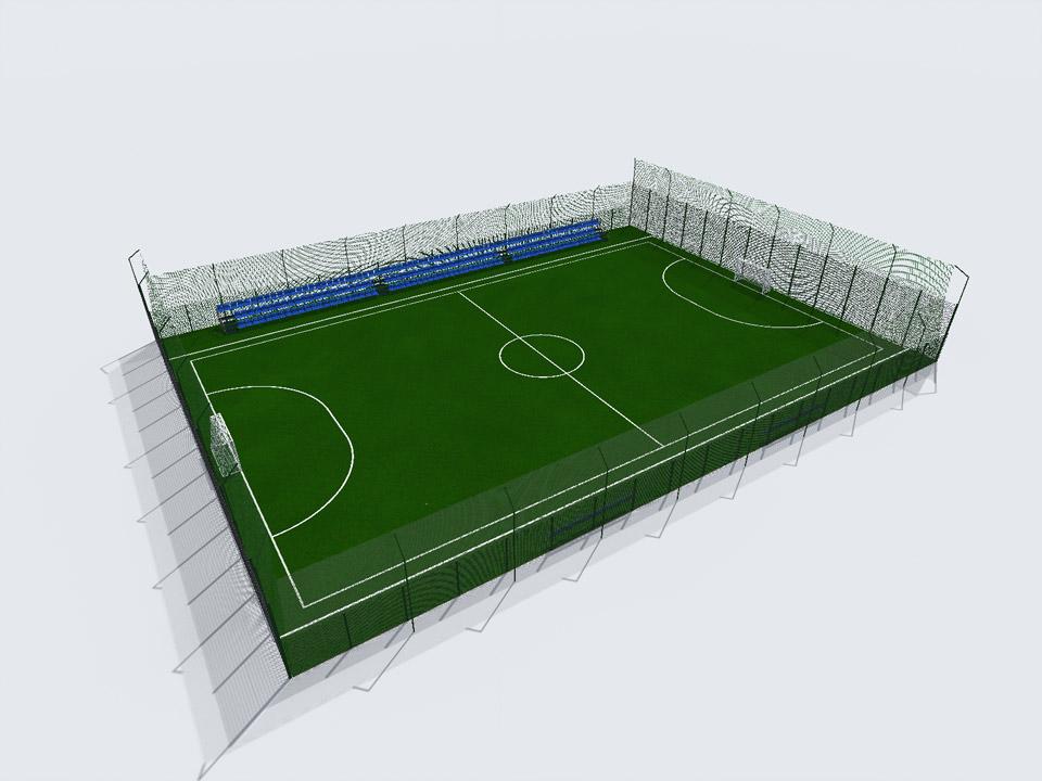 Футбольний майданчик в Решетилівці