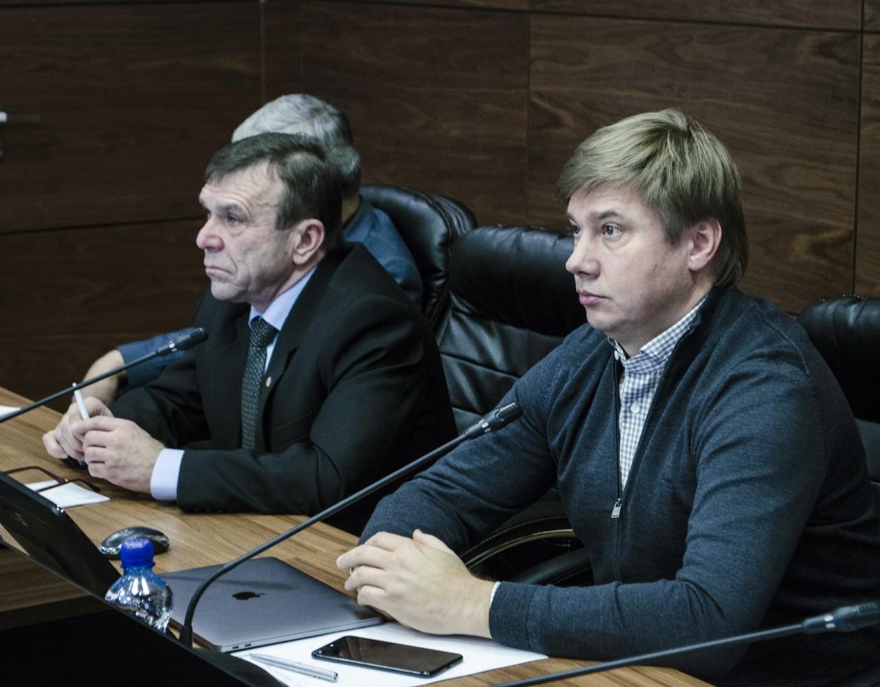 Микола Білокінь та Олександр Біленький
