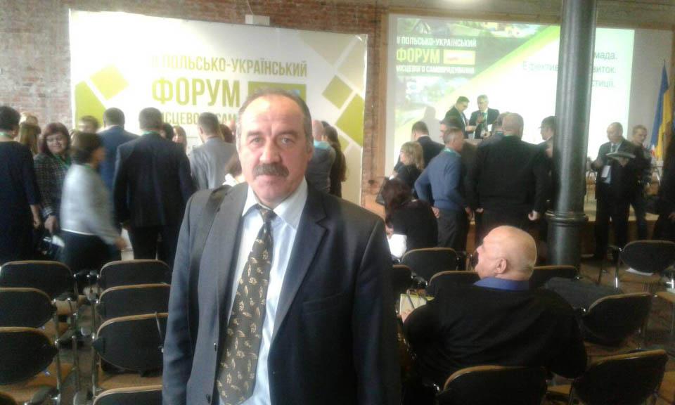 Валерій Білокінь на Форумі