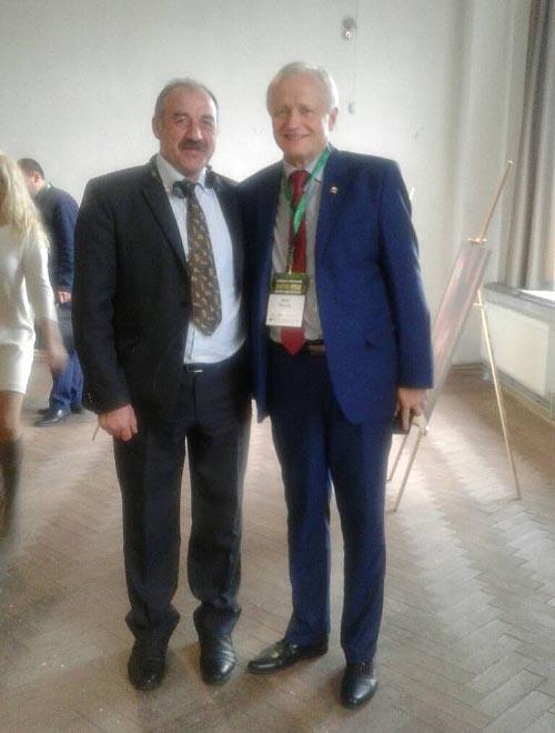 Валерій Білокінь з Яцеком Пєхотою — головою Польсько-української економічної палати