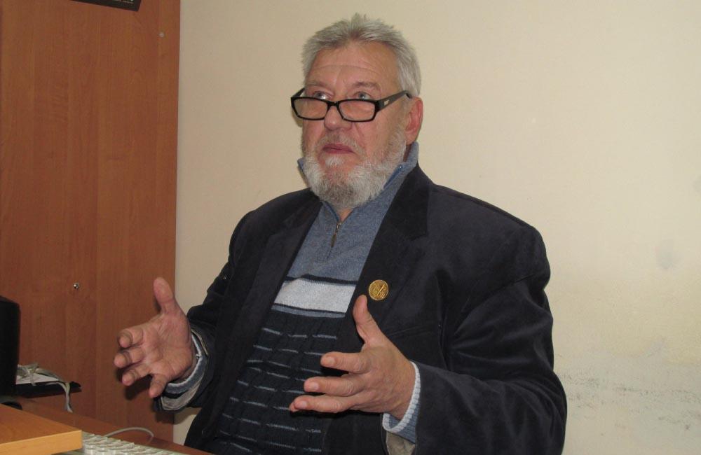 Директор Полтавського краєзнавчого музею Олександр Супруненко