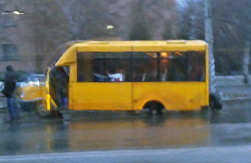 Мікроавтобус «Рута» з 14-го маршруту