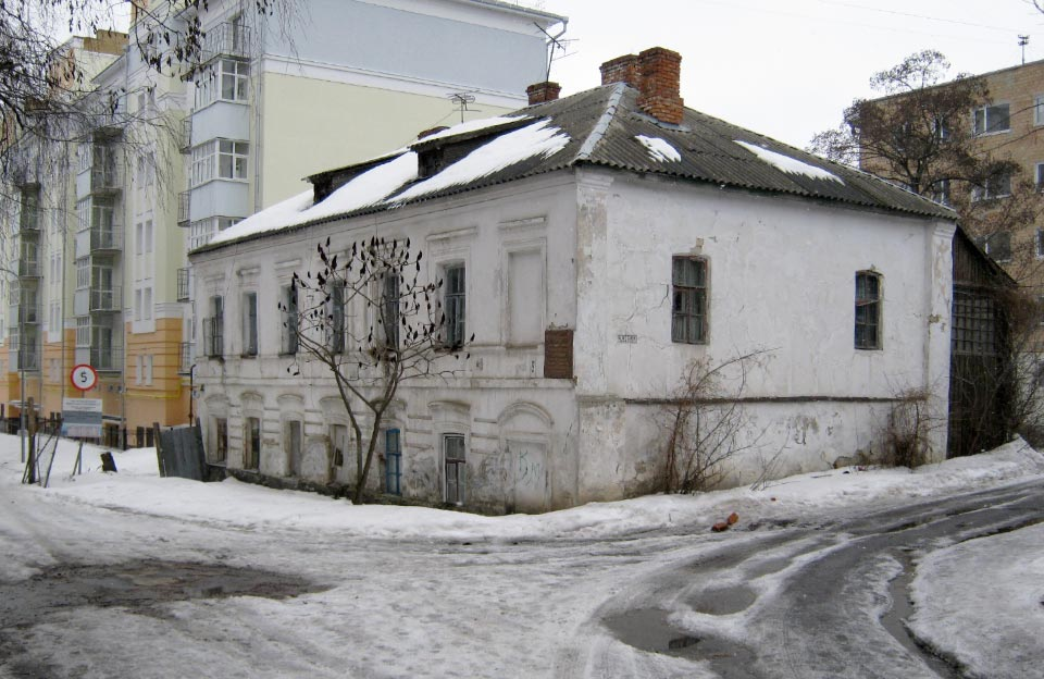Будинок Луначарського у Полтаві (березень 2010 року)