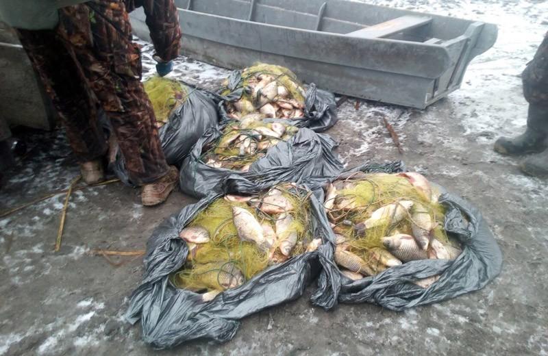 Факт браконьєрства на території Сулинської затоки поблизу села Лящівка