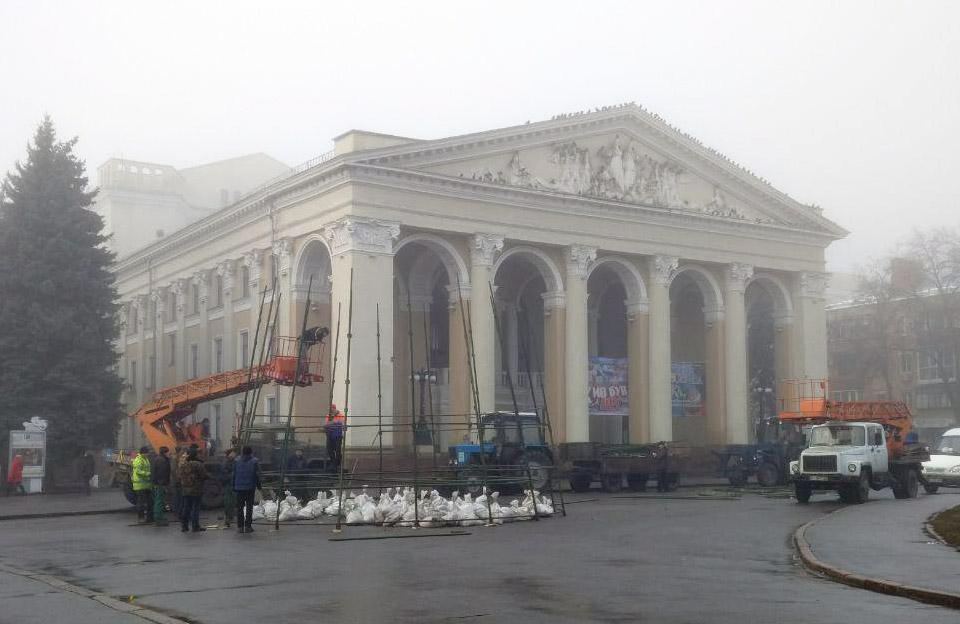 Театр ім. М.В. Гоголя у Полтаві