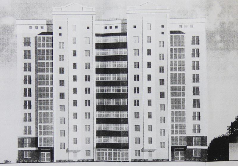Перспективне зображення будинку на вул. Героїв АТО, 81