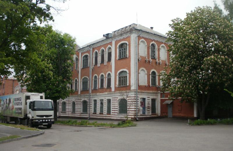 Колишній карамельний цех на вул. Спаській