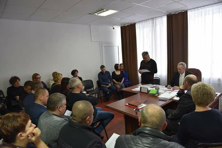 Депутати на сесії Щербанівської сільської ради